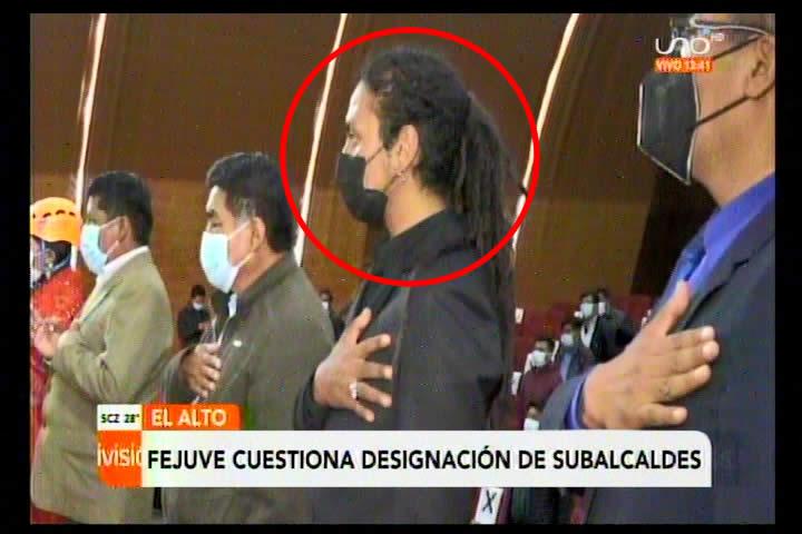 FEJUVE El Alto cuestiona designación de músico y de una joven como subalcaldes