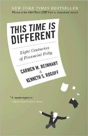 This Time Is Different by Carmen Reinhart & Kenneth Rogoff, Bill Gates Top 10 Books 2012, www.ruths-world.com