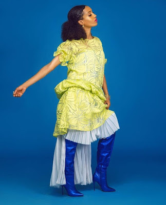 Di'ja releases wedding anniversary photos