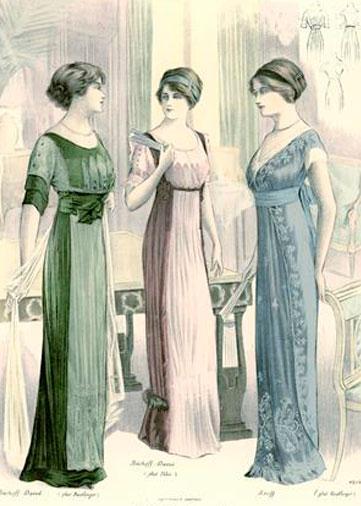 Moda em 1911 revista