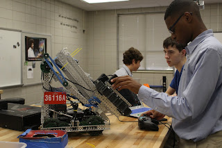 Montgomery Catholic Robotics Teams Qualify for State Competition 1
