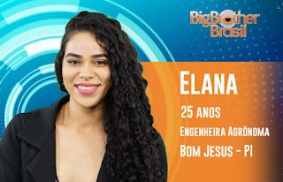 Instagram da Big Brother Elana Valenária
