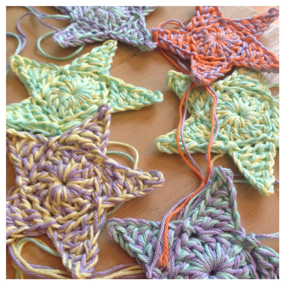 Martine De Regt Crochetlife Sterretjes Haken