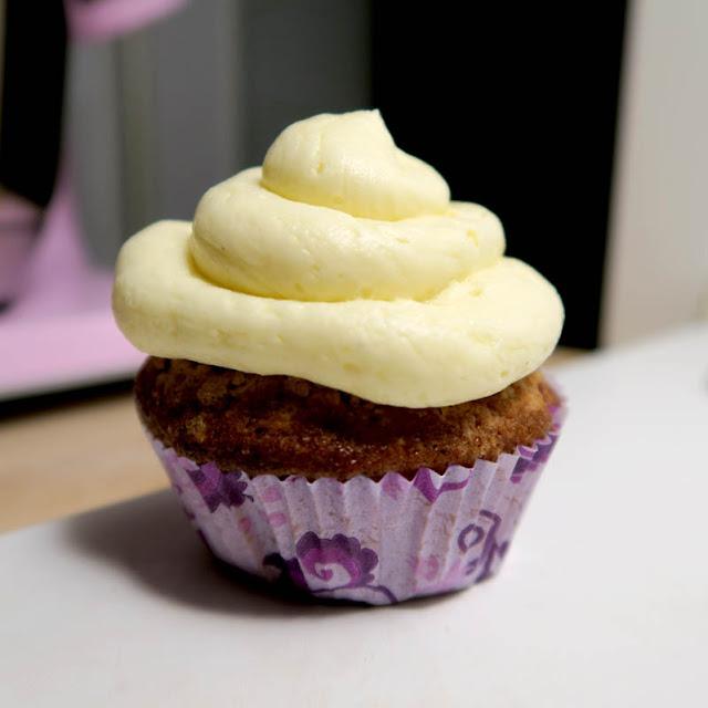 Pekannuss Cupcake mit Vanille-Buttercreme | pastasciutta.de