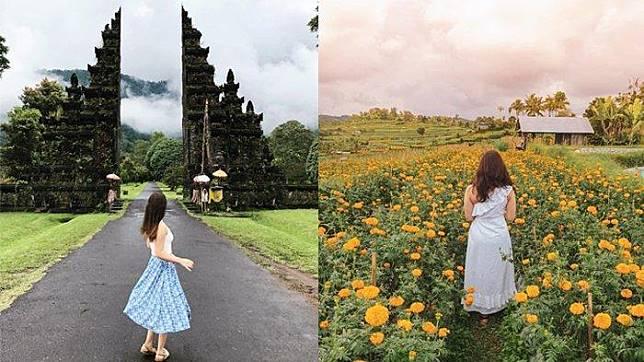 4 Destinasi Instagramable di Bali, Ada Handara Iconic Gate yang Populer di Instagram