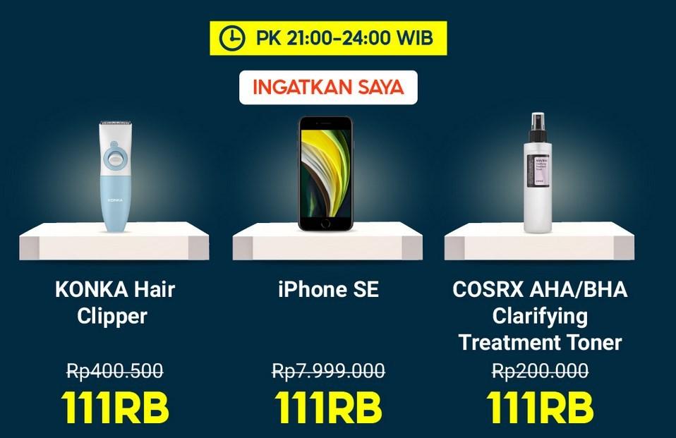 promo 11.11 Shopee iPhone SE