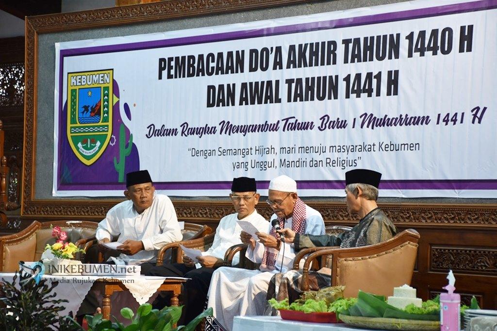Sambut Tahun Baru Islam, Pemkab Kebumen Gelar Doa Akhir Tahun dan Doa Awal Tahun