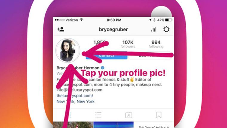 cara ketahui orang yang melihat postingan instagram kita