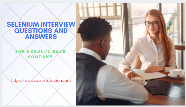 Selenium Interview Question For Product Base Company