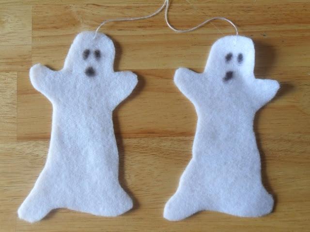 Felt Ghosts