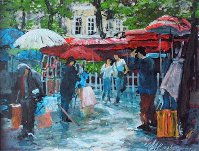 Montmartre painting