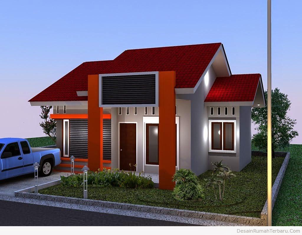 Desain  Rumah  Minimalis 1 Lantai Type 100  Gambar Foto