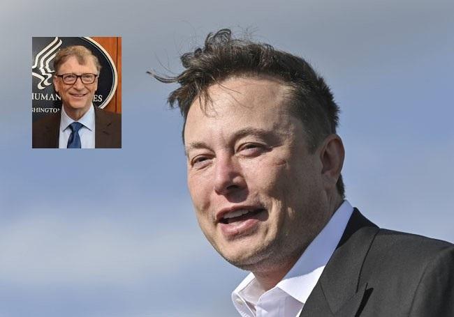"""Elon Musk ne se fera pas vacciner contre la Covid-19 et traite Bill Gates de """"crétin...!"""""""
