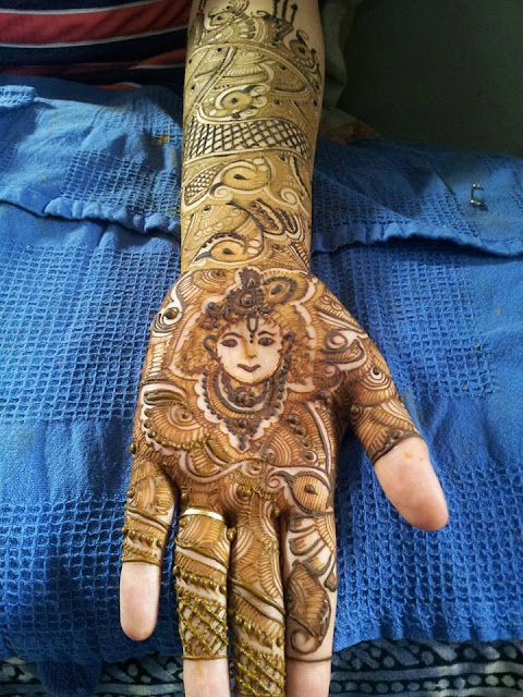Bridal Mehandi Designs for Hands 15