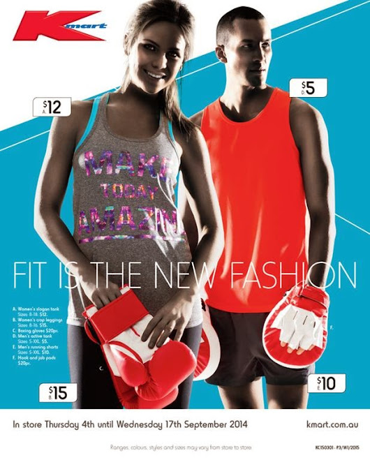 Find Cheap Active Wears At Kmart Catalogue