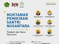 Kemenag Gelar Muktamar Pemikiran Santri Nusantara