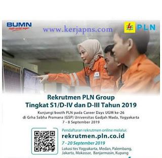 lowongan kerja PT PLN tahun 2019 terbaru