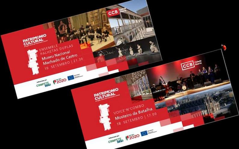 No âmbito de uma parceria estabelecida com a Direção-Geral do Património Cultural (DGPC), o Centro Cultural de Belém (CCB) continua a levar a sua oferta cultural ao Museus e Monumentos Nacionais de  todo o país.