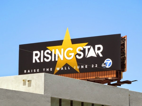 Rising Star special extension billboard