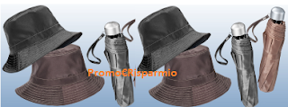 Logo Set cappello e ombrello con Confidenze