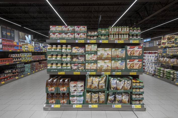 Aldi Organic and weekly specials