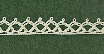 Patrón #1841: Encaje a Crochet