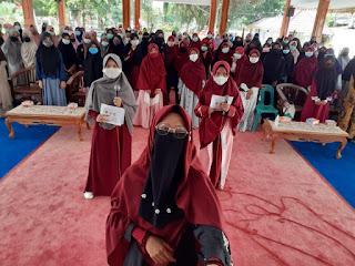 Ratusan Muslimah Binjai Ikuti Seminar Hijab Day 2021