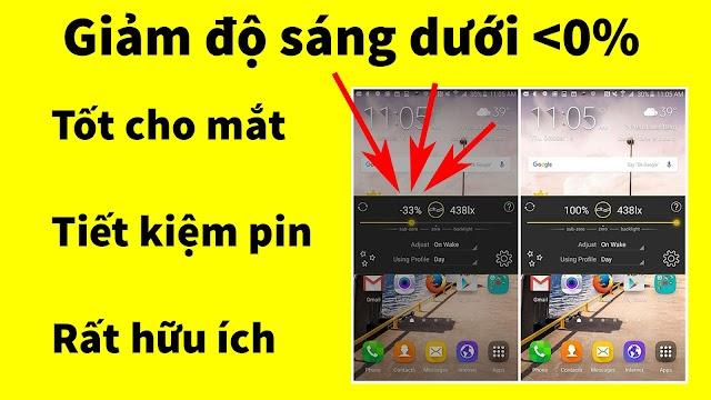 Tải về ứng dụng giảm độ sáng màn hình android