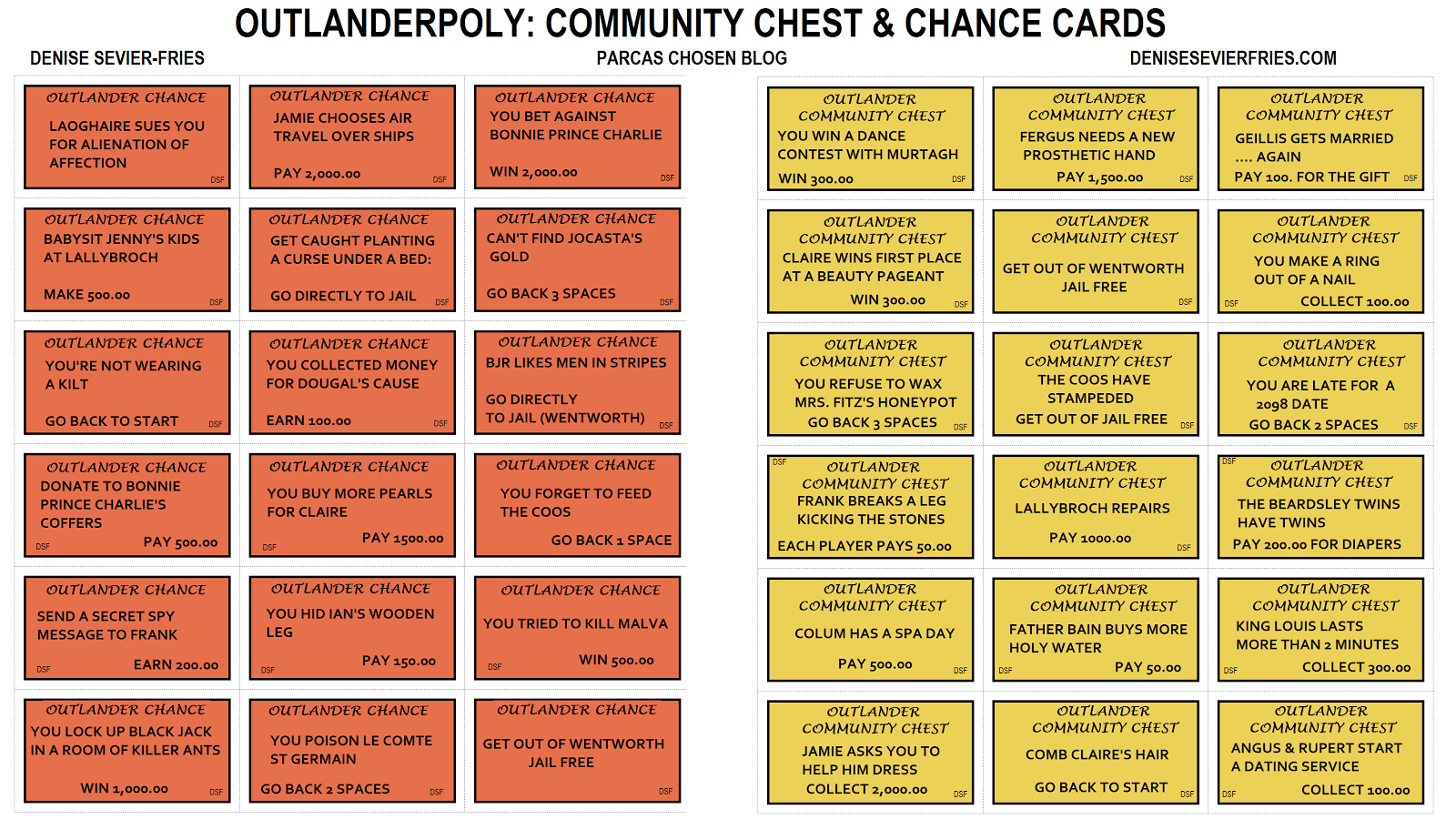 Remarkable image with regard to monopoly chance cards printable