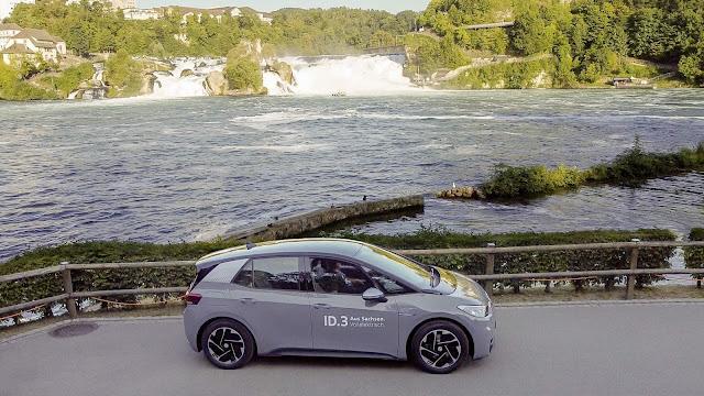 Volkswagen ID3 faz viagem de 531 km com 1 única carga