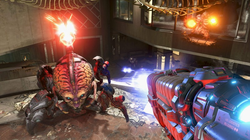 id Software is working on a single-player horde mode for Doom Eternal. Invasion Mode canceled