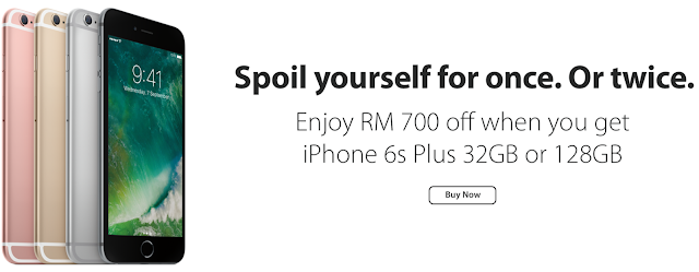 iPhone 6s Plus Malaysia Price 2017 Discount Offer Promo