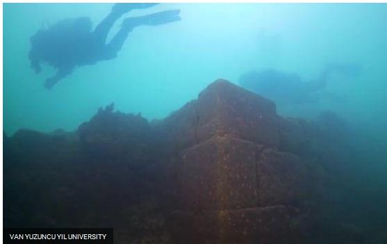 Ancient Underwater Castle Discovered in Lake Van