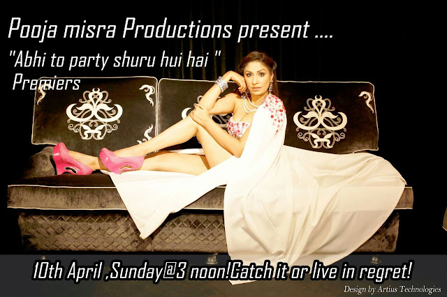 Pooja Misrra's 'Abhi Toh Party Shuru Hui Hai' Show on E24 Bollywood Wiki Plot,Timing,Promo
