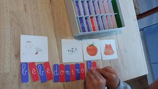 Le coffret de lecture Montessori Nathan apprentissage maternelle test