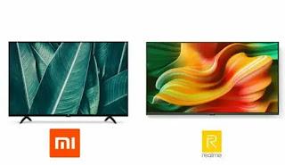 Xiaomi Mi Tv 4a smart 43 VS Realme Smart Tv 43