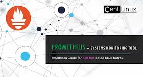 Install Prometheus Systems Monitoring Tool on CentOS / RHEL 8