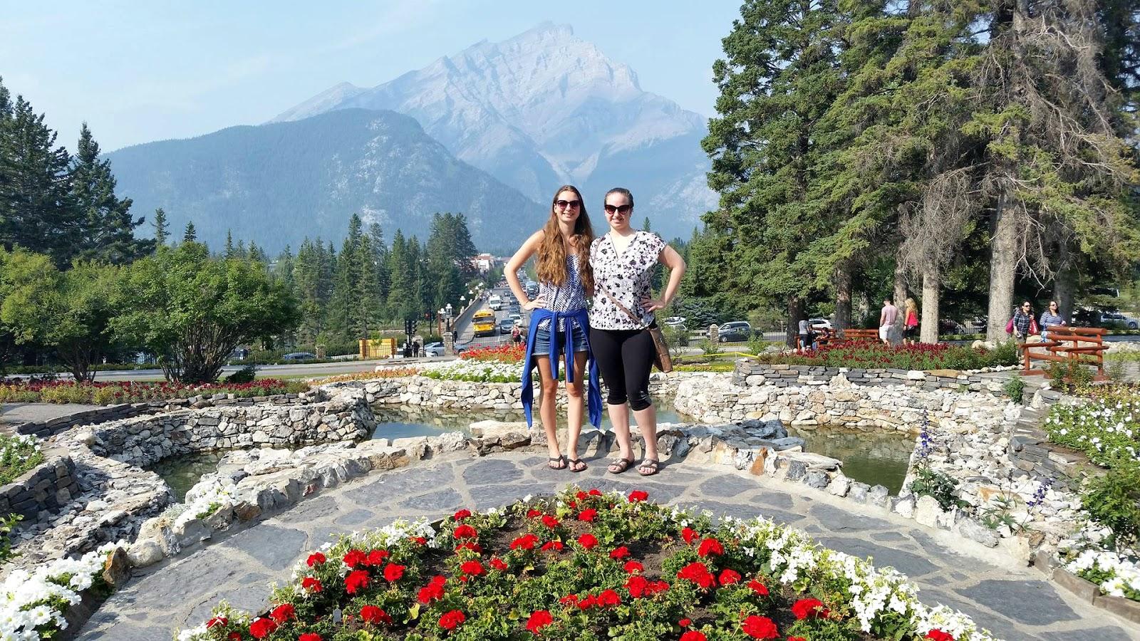 Cascade Gardens Town Banff Alberta Canada