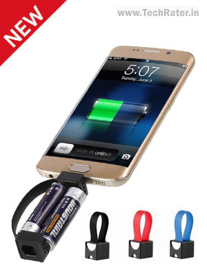 Charger any Mobile with Two AA Battery