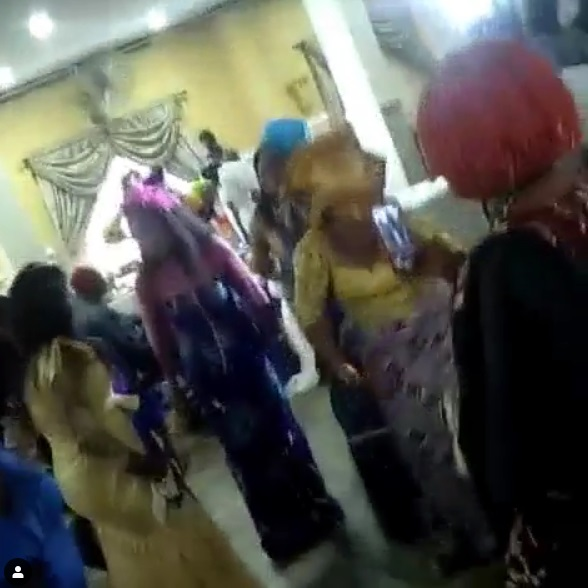 Elderly Women Dance To 'Soapy' In Event As DJ Gives Hits (Video)