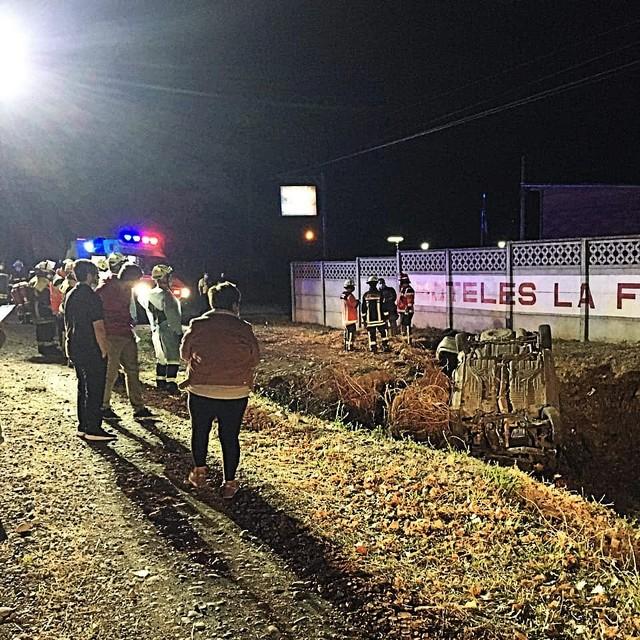 Fatal accidente en la comuna de La Unión