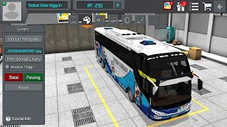 Livery Bus Bussid Doraemon SHD Terbaru Blue Tunas Merapi arjuna