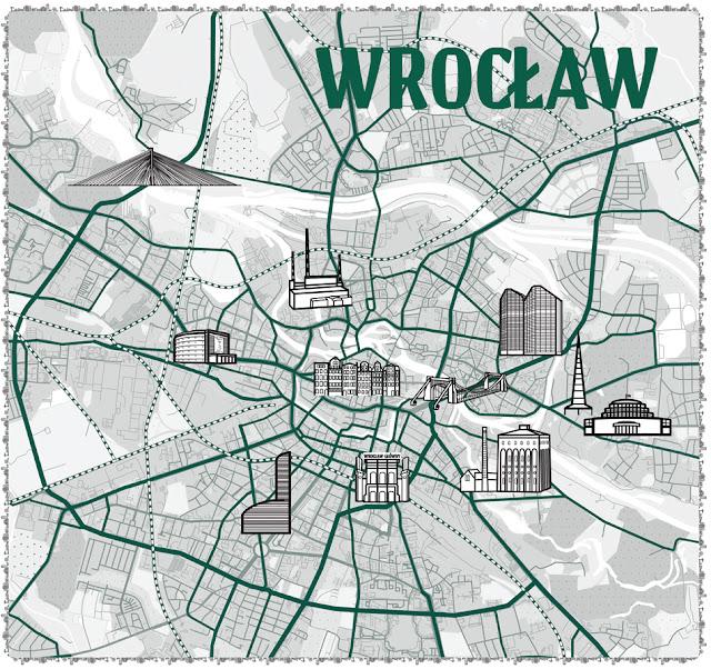 mapa atrakcje Wrocławia do wydrukowania