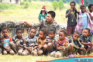 Kehadiran TNI-Polri di Papua Diyakini Beri Rasa Aman Warga dari KKB