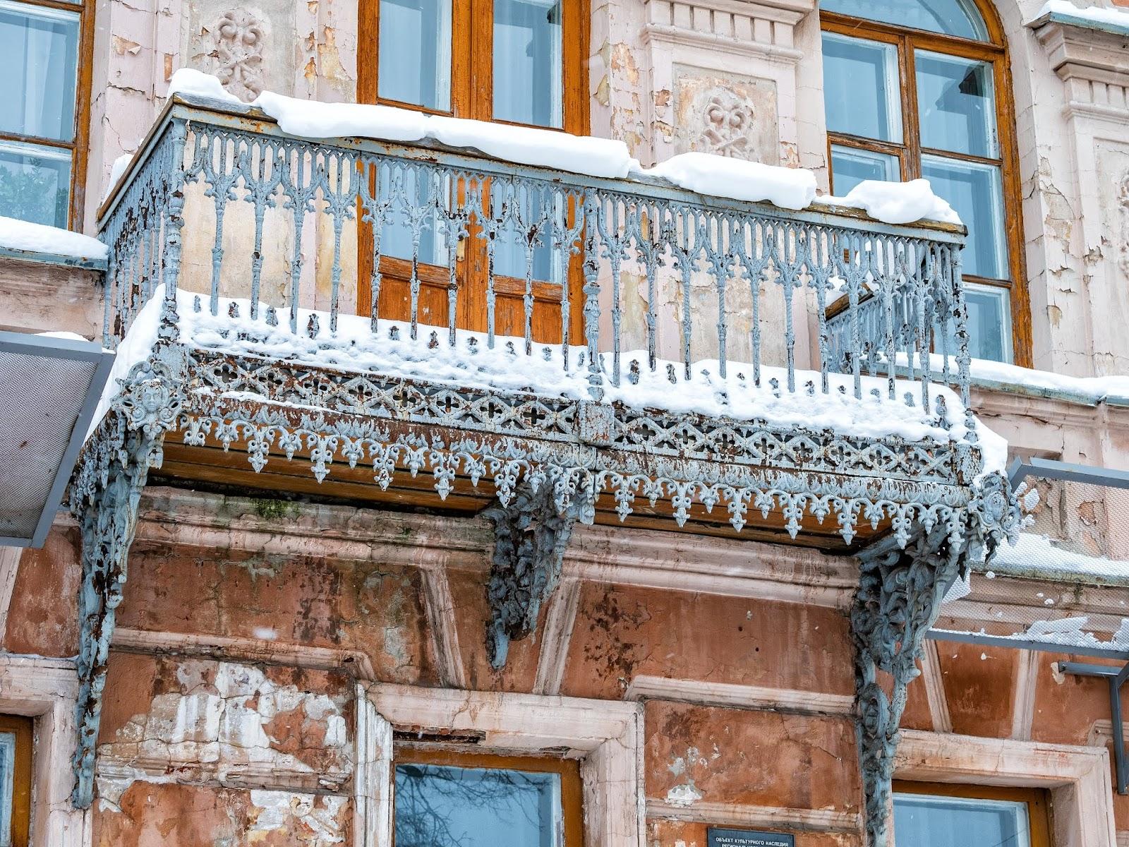 Een Winters Balkon : Чудный балкон