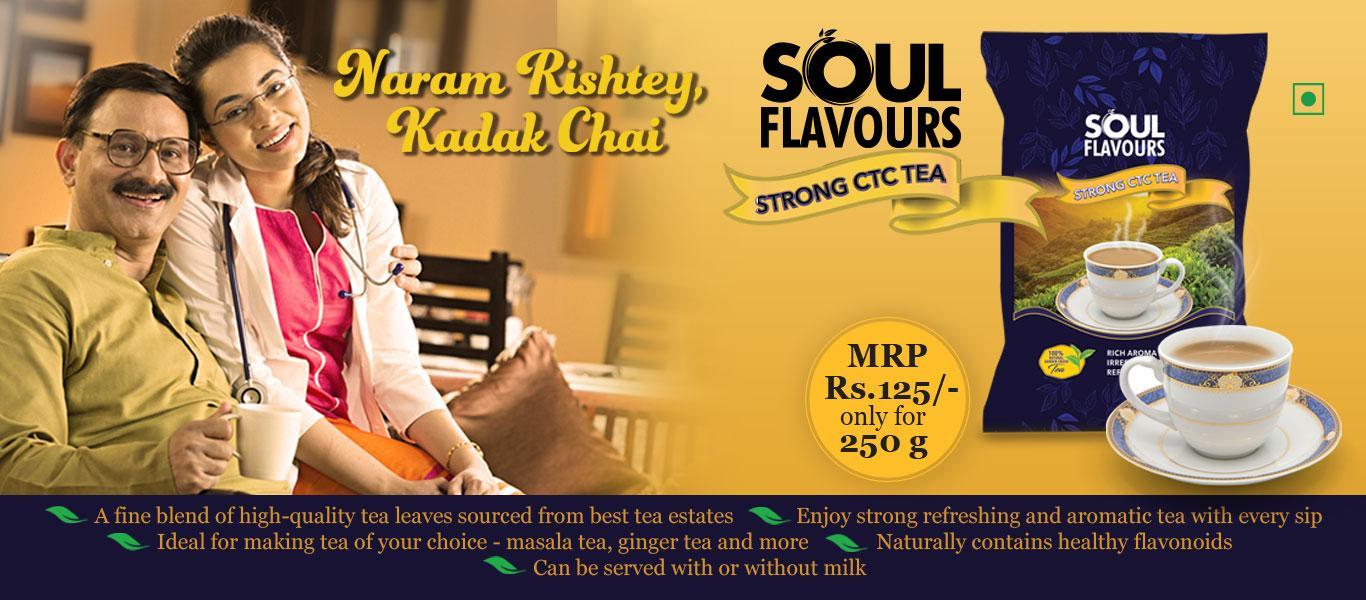 Modicare Soul Flavours Strong CTC Tea