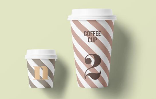 Mockup Paper Cup gratis