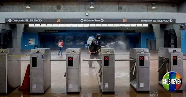 4 Personas fueron apuñaladas durante un atraco en el Metro de Caracas
