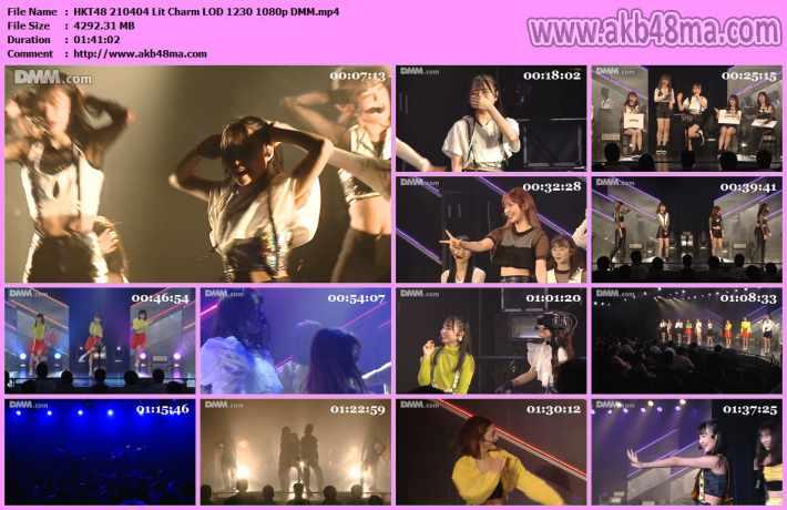 210404 HKT48 Lit charm単独イベント