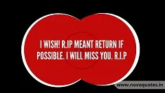 Message For Rest in Peace